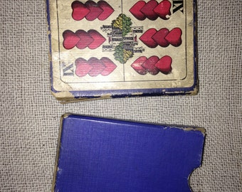"1910 A. Dougherty ""Hungarian Playing Cards"""