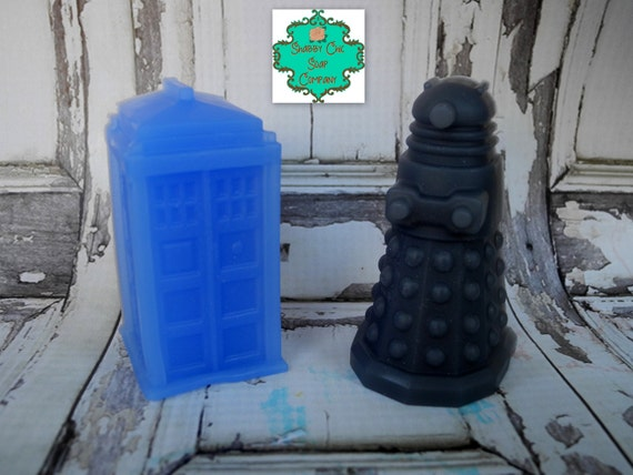 Shabby Chic Soap Co - Dr Who Inspired soap bars, pick your scent
