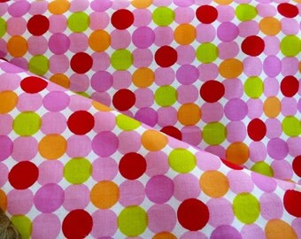 Polka Dot Cotton Fabric by the Yard