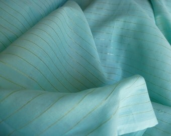 Mint Green Cotton by the Yard, Cotton Fabric Yardage, Fabric by the Yard