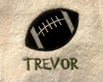 Football Personalized Sports Towel