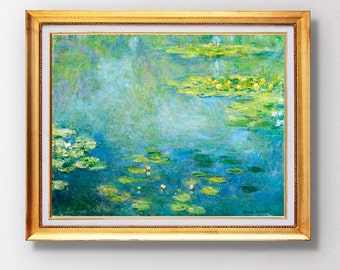 Claude Monet - Waterlilies - Fine Art Glicée - 1906 - SKU 0134