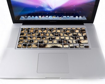 Keyboard for MacBook Leopard stickers