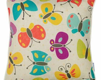Carlin Cushions Butterflies Cushion Cover Limited Edition