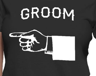Point at Groom T-Shirt