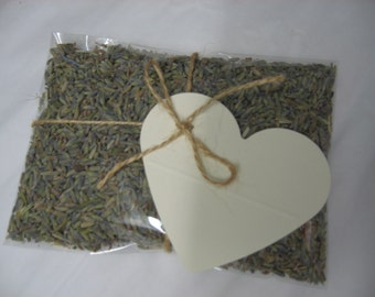 Set of 20 dried lavender sachets wedding/party favours