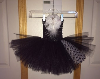 Black & White Tutu Dress