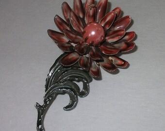Flower Metal Brooch