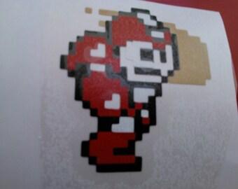Mega Man Power Armor Decal