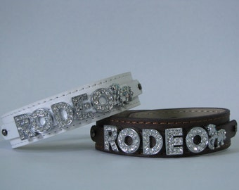 Rodeo w/horse charm