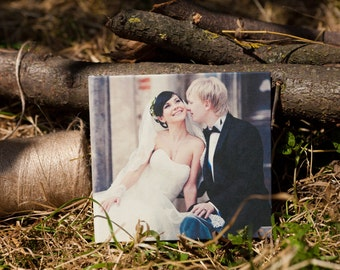Personalised craft Vintage Wedding Love Photo CD, DVD case, cover - Print Photo