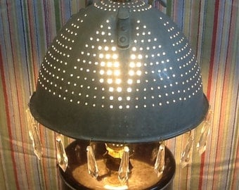 Re-Brewed Coffee Pot Lamp Recycled/Repurposed