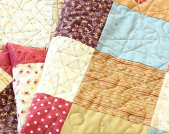Country Chic Squares Quilt
