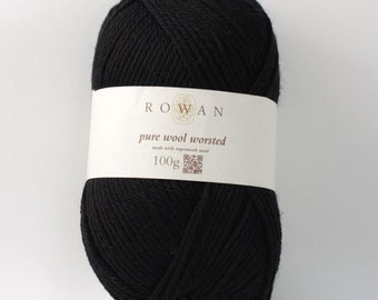 Rowan Pure Wool Worsted Machine Washable Yarn - Chocolate 00109