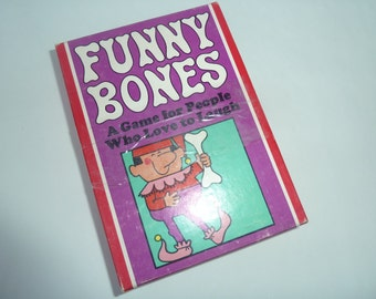 Funny Bones - Card Game  Parker Brothers, 1968