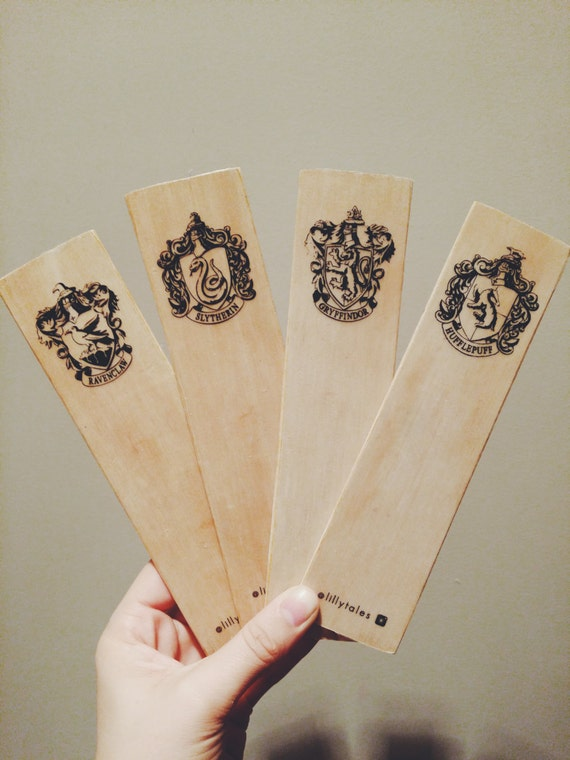 HOGWARTS HOUSE SET - Harry Potter bookmark range.