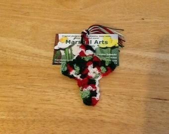 Crocheted Cross Bookmarks