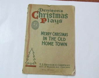 1928 TS Denison Christmas play