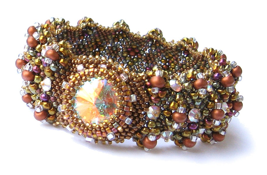 Image result for How Rivoli beads are given different textures
