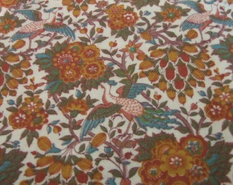 Liberty cotton and wool mix fabric