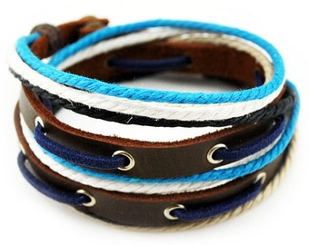 axy wrap bracelet TWIC11-2!  Leather Bracelet