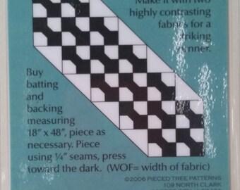 My Tie Table Runner Pattern
