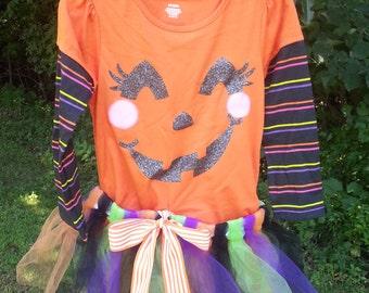 Halloween Tutu Set Size 3T