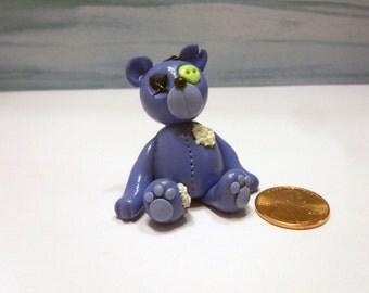 Blue Zombie Bear