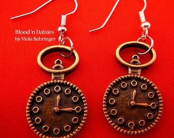Tick Tock Earrings