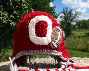 Crochet Team Hats - high school, college and professional