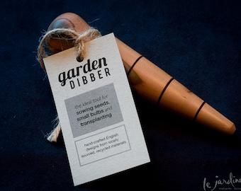 Hand-turned Garden Dibber