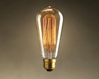 60 Watt Edison Bulbs for Industrial Lighting - 60 Watt Bulbs (1bulb)