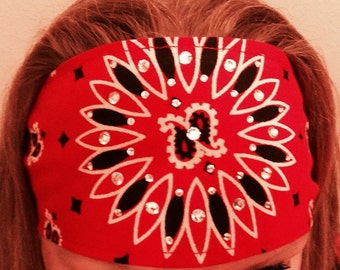Elastic Headbands with BLING
