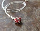Opening Heart Locket Necklace