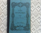 Vintage religious french book - Les Saints Evangiles - Fillion - Paris 1933