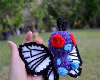 Butterfree amigurumi plush Pokemon doll