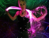 Fiber Optic Sparkle Whip -Psychedelic toy and wrap