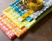 Ribbon Star Quilt Fabric Fat Sixths- One Yard, All Six Colors