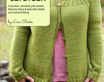 Everyday Cardigan Knitting Pattern and Tutorial