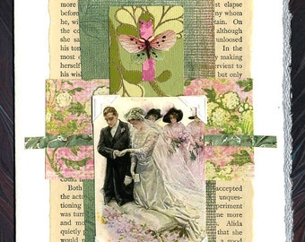 Wedding Collage Card He Fell In Love With His Wife Anniversary