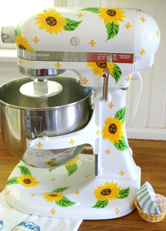 Sunflowers Kitchenaid Decals