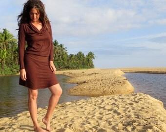 ORGANIC Vagabond Short Dress (light hemp/organic cotton knit)