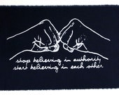 stop believing in authority patch