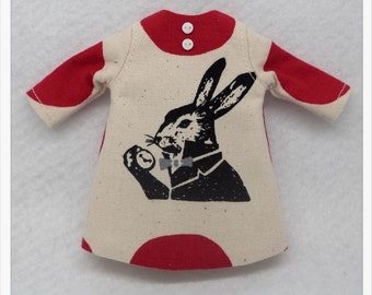 LADYBIRD HOUSE Blythe Outfit Rabbit Dress - A