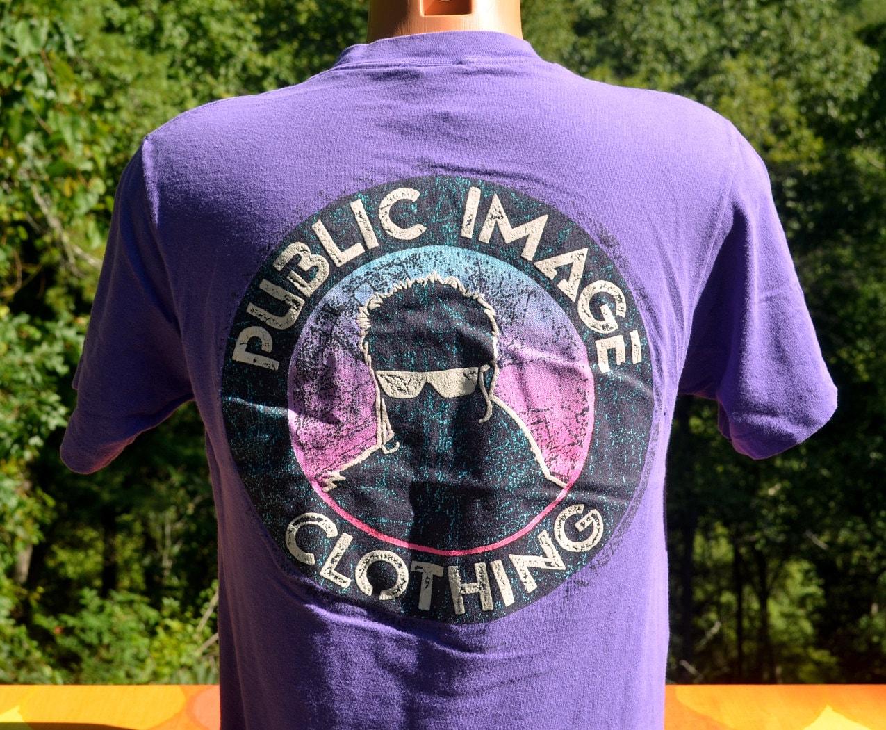 Buy vintage public image brand shirts