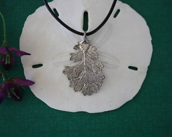 Oak Real Leaf Platinum, Real Leaf, Lacey Oak, Dark Leaf, Antique, Platinum Leaf, PL5