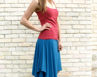 Organic Cotton & Bamboo Mid-Length Skirt