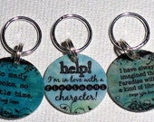 STITCHMARKERS for KNITTERS or CROCHETERS, Book Lovers