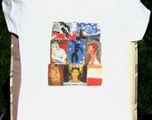clothing Tshirt unisex famous artists white short sleeves several sizes multi color tee shirt T shirt CLEARANCE sale