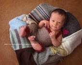 Alpaca Overalls - Newborn Photo Prop - overalls, long overalls, newborn overalls, newborn pants